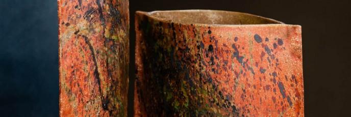 dwie proste formy ceramiczne